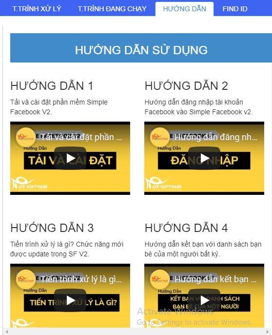 tich hop huong dan su dung - Tăng 5000 bạn bè cực nhanh mà không bị khóa với Simple Facebook ver 2.0 năm 2019