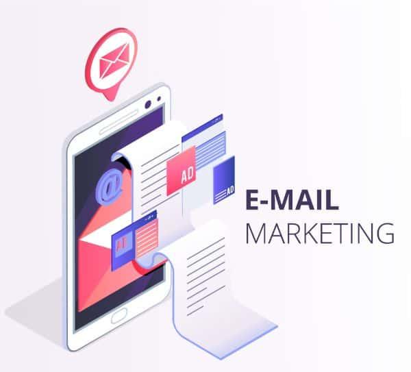 email marketing, các kênh marketing, kênh marketing online