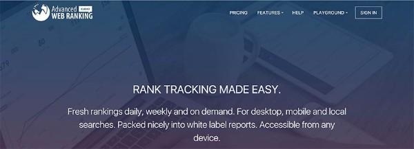 tool advanced web ranking, kiểm tra thứ hạng từ khóa