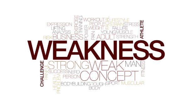 điểm yếu trong swot, weakness là gì