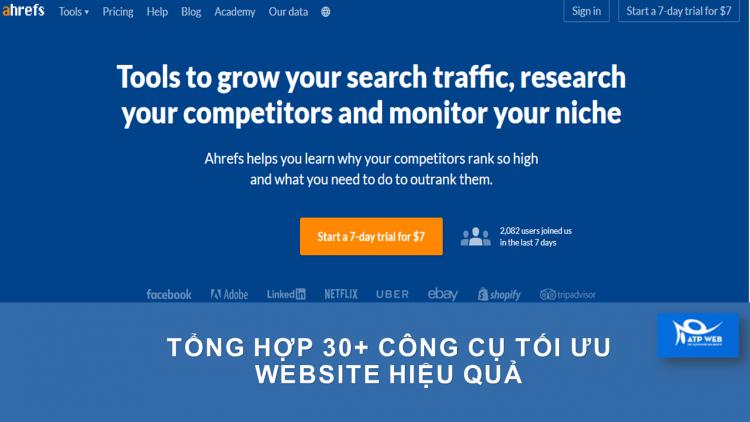 Công Cụ Tối ưu Website