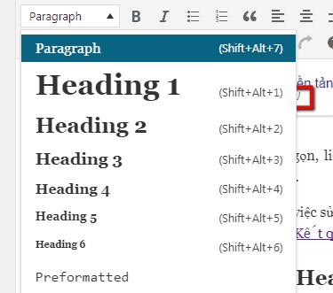 tối ưu heading bài viết trong seo onpage