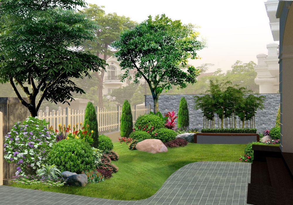 1 Bí kiếp thiết kế 99+ mẫu sân vườn nhà vườn đẹp như mơ