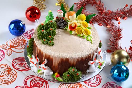 Hương vị ngọt ngào trong chiếc bánh Giáng sinh Brodard - VnExpress ...