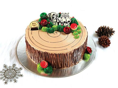 Bánh khúc cây - biểu tượng đặc trưng của mùa Giáng sinh ...
