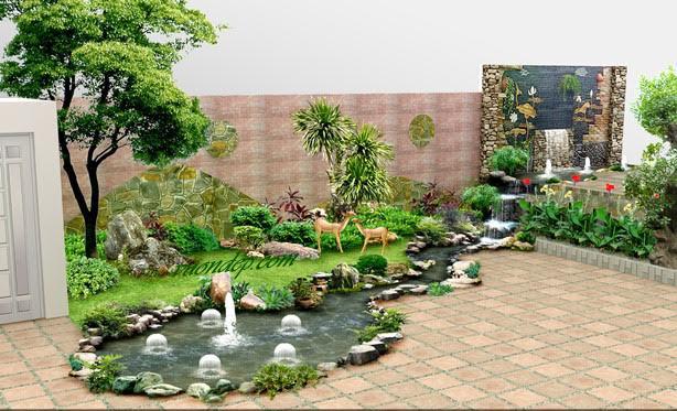 Mẫu sân vườn 18 ~ Vườn Đẹp