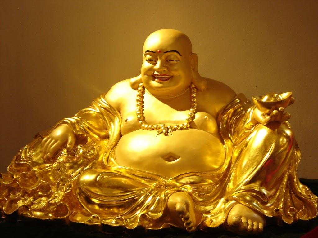 Vật phẩm phong thủy Tượng Phật cười