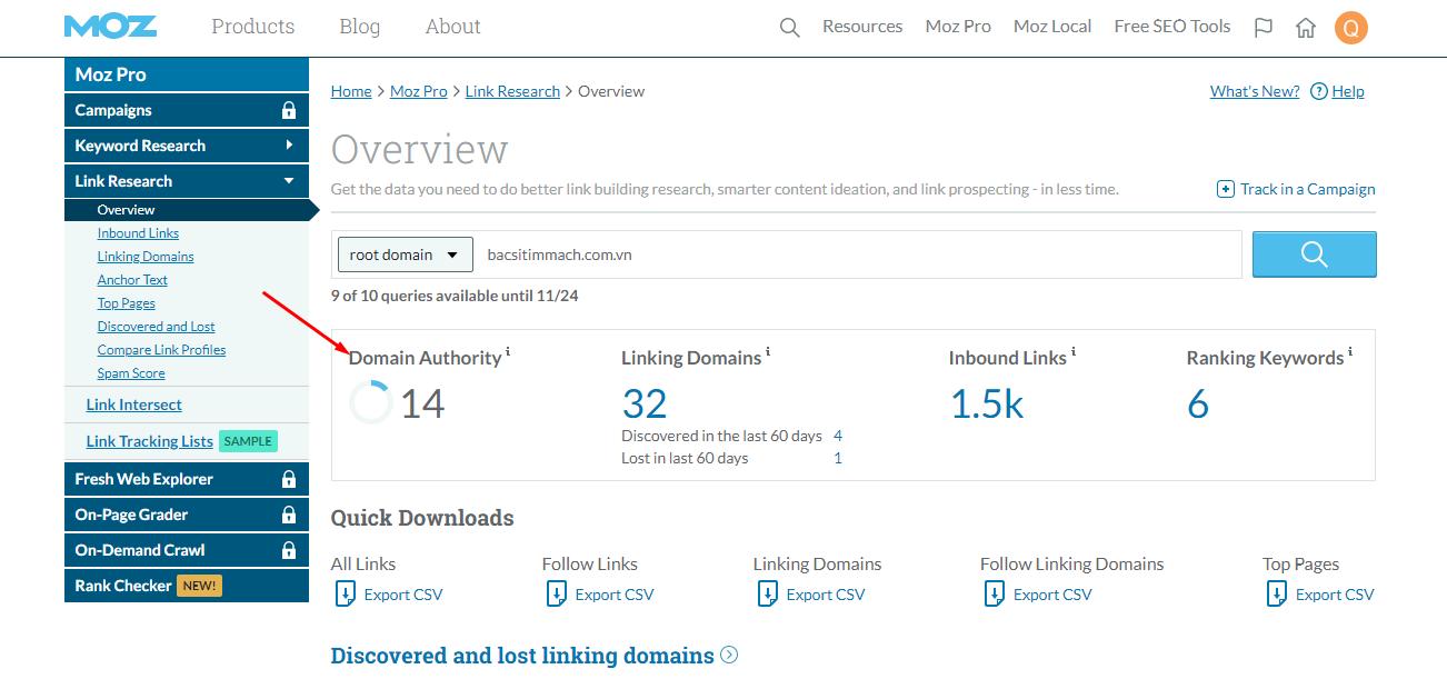 Domain Authority là gì? Chỉ số Domain Authority giúp bạn những gì? | OSD.VN  - We do web. You make business