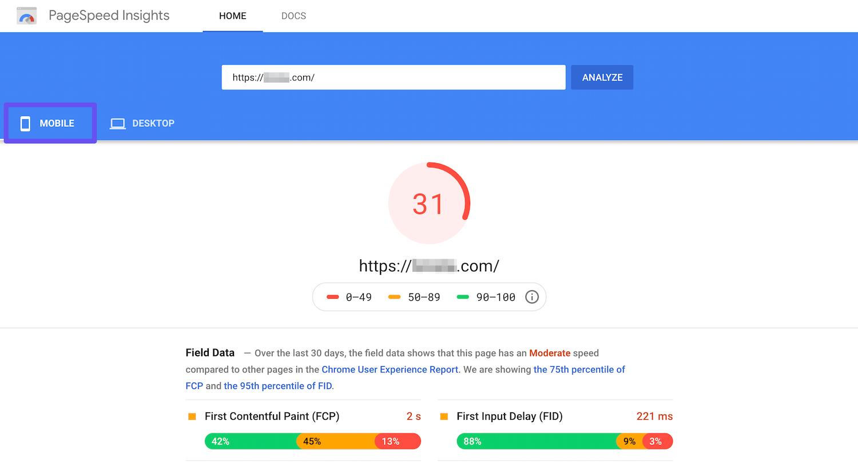 Google Pagespeed Insights là gì? Điều bạn cần biết